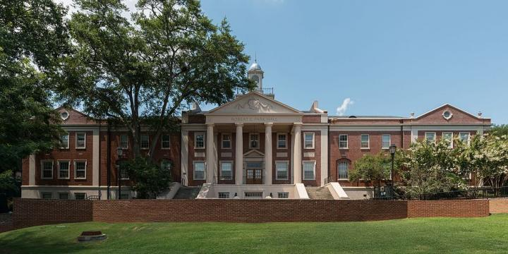 Park Hall, Home of UGA's English Department