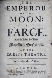 Emperor of the Moon Title Page