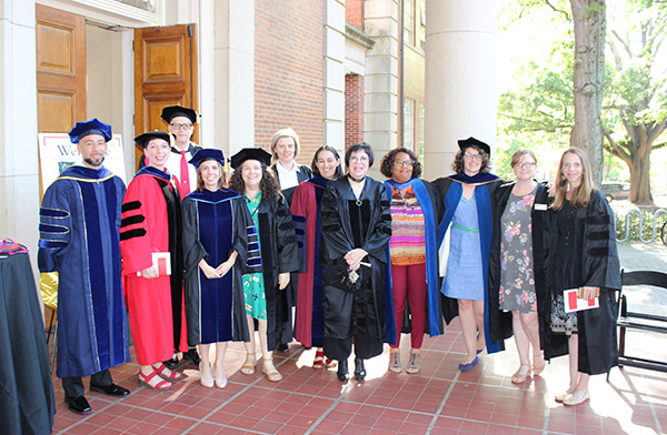English Faculty, Honors Day 2018