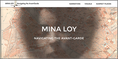 Mina Loy Website