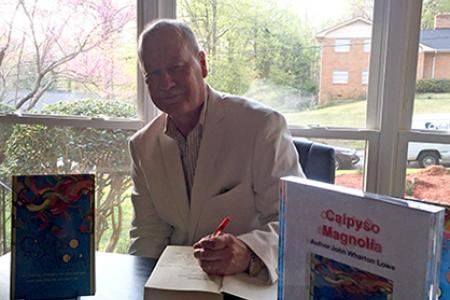 John Lowe at Book Signing